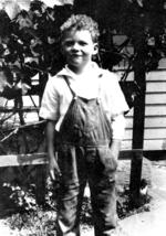 Jim Van Schaack As a Child