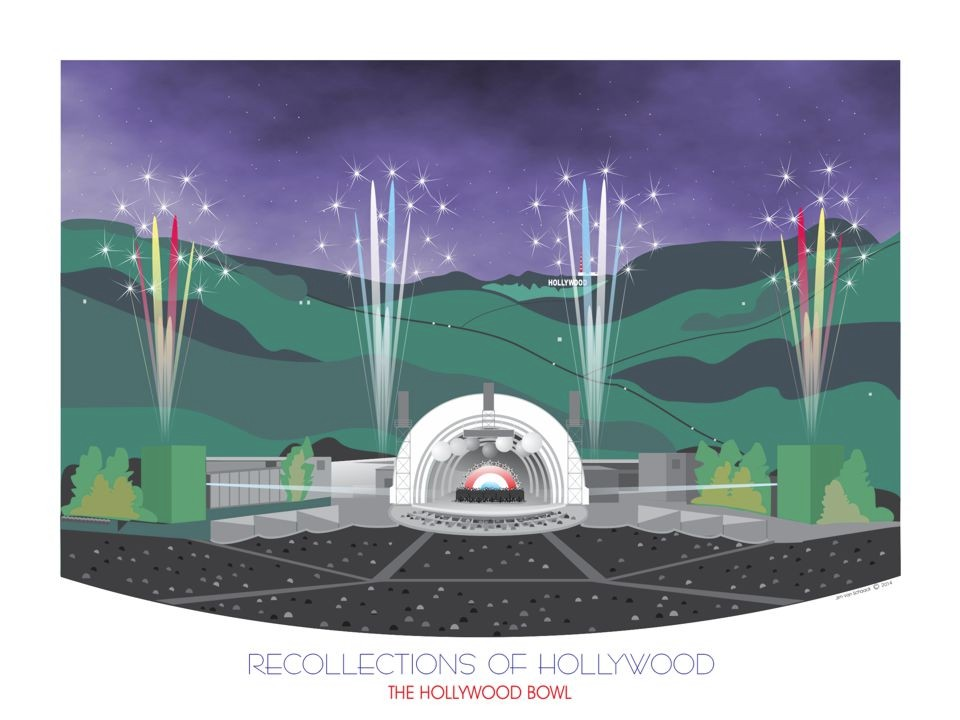Recollections of Hollywood: The Hollywood Bowl Hollywood, CA