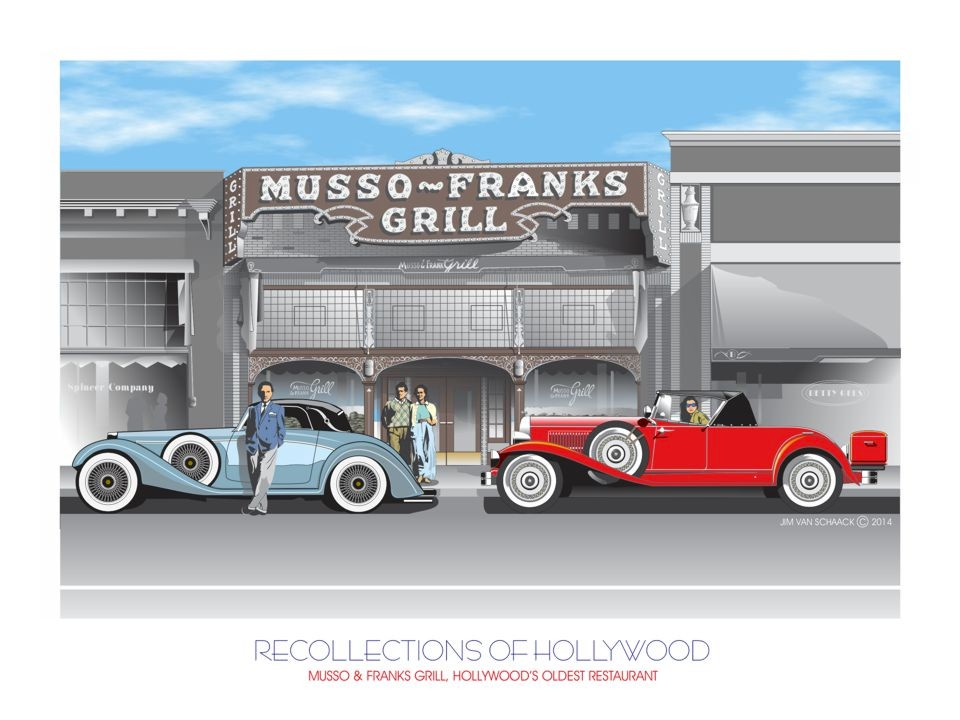 Recollections of Hollywood: Musso & Franks Grill Hollywood, CA