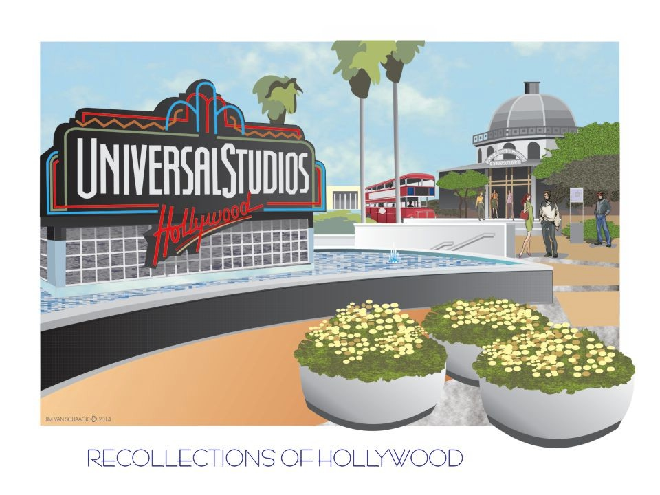 Recollections of Hollywood: Universal Studios Hollywood, CA