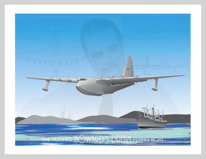 Howard Hughes Flying Boat - HK-1