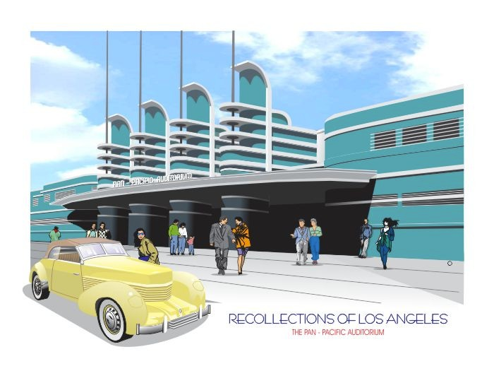 Recollections of Los Angeles: Pan -Pacific Auditorium and Cord Car