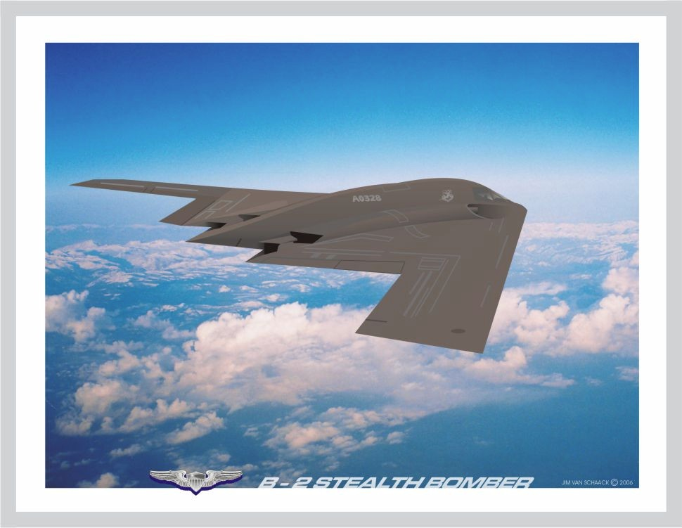 Post World War 2 - B-2 Stealth Bomber