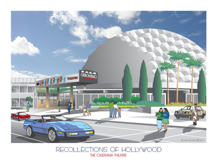 Recollections of Hollywood: The Cinerama Theatre