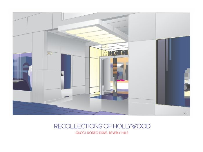 Recollections of Hollywood: Gucci Rodeo Dr Beverly Hills