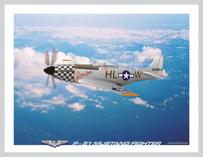 p-51 Mustang Fighhter