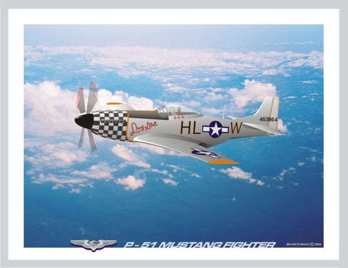 P-51 Mustang Fighter