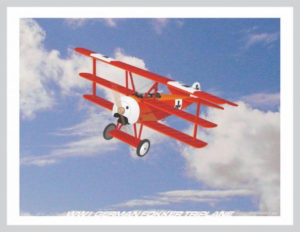 WWI Fokker German Triplane